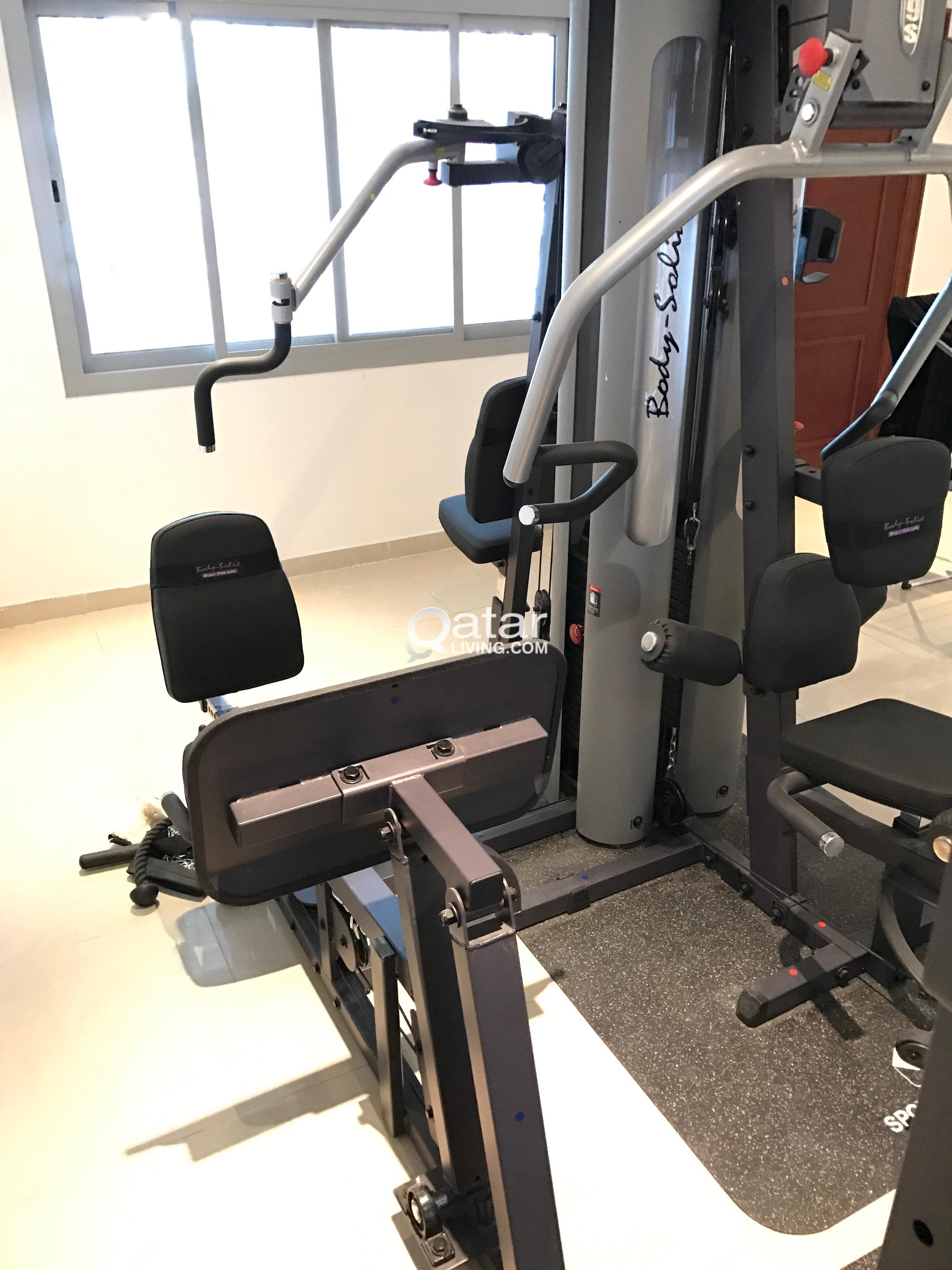 Multi stack gym body solid g s for sale qatar living