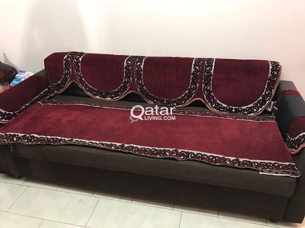 Fine Moving Sale Baby Bed Sofa Bed Fridge Etc Qatar Living Creativecarmelina Interior Chair Design Creativecarmelinacom