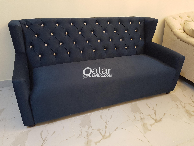 New 02 Seats Sofa Home Center Qatar Living