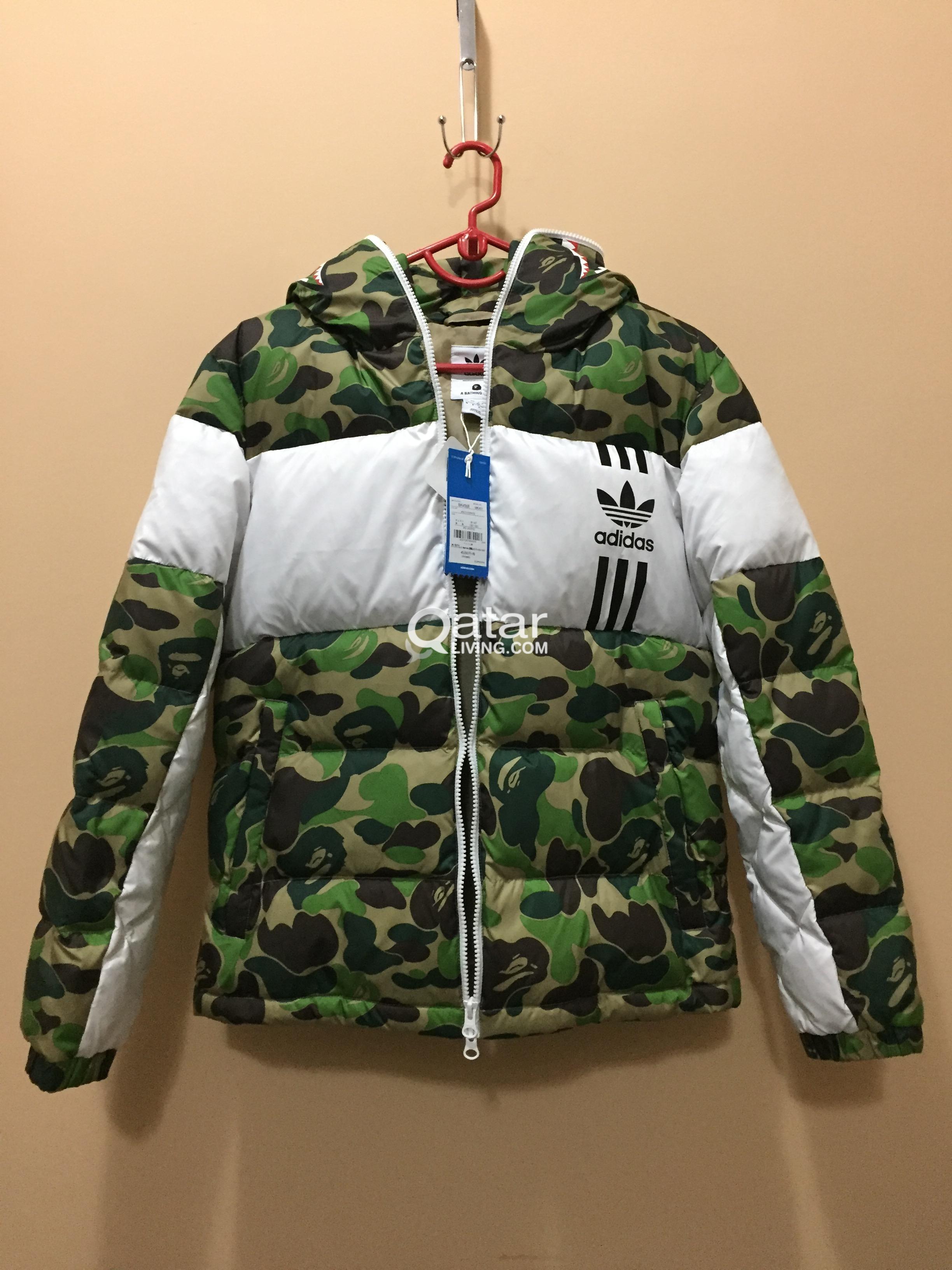 4e91407dc4e2 ... sneakerb0b RELEASES  title title ... Bape Bape X Adidas Shark Down  Jacket Size M ...
