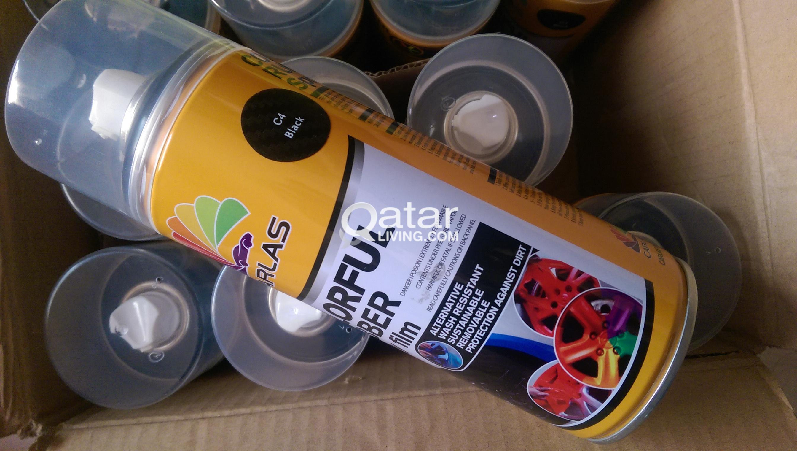 Rubber Spray paint Carlas Plasti dip | Qatar Living