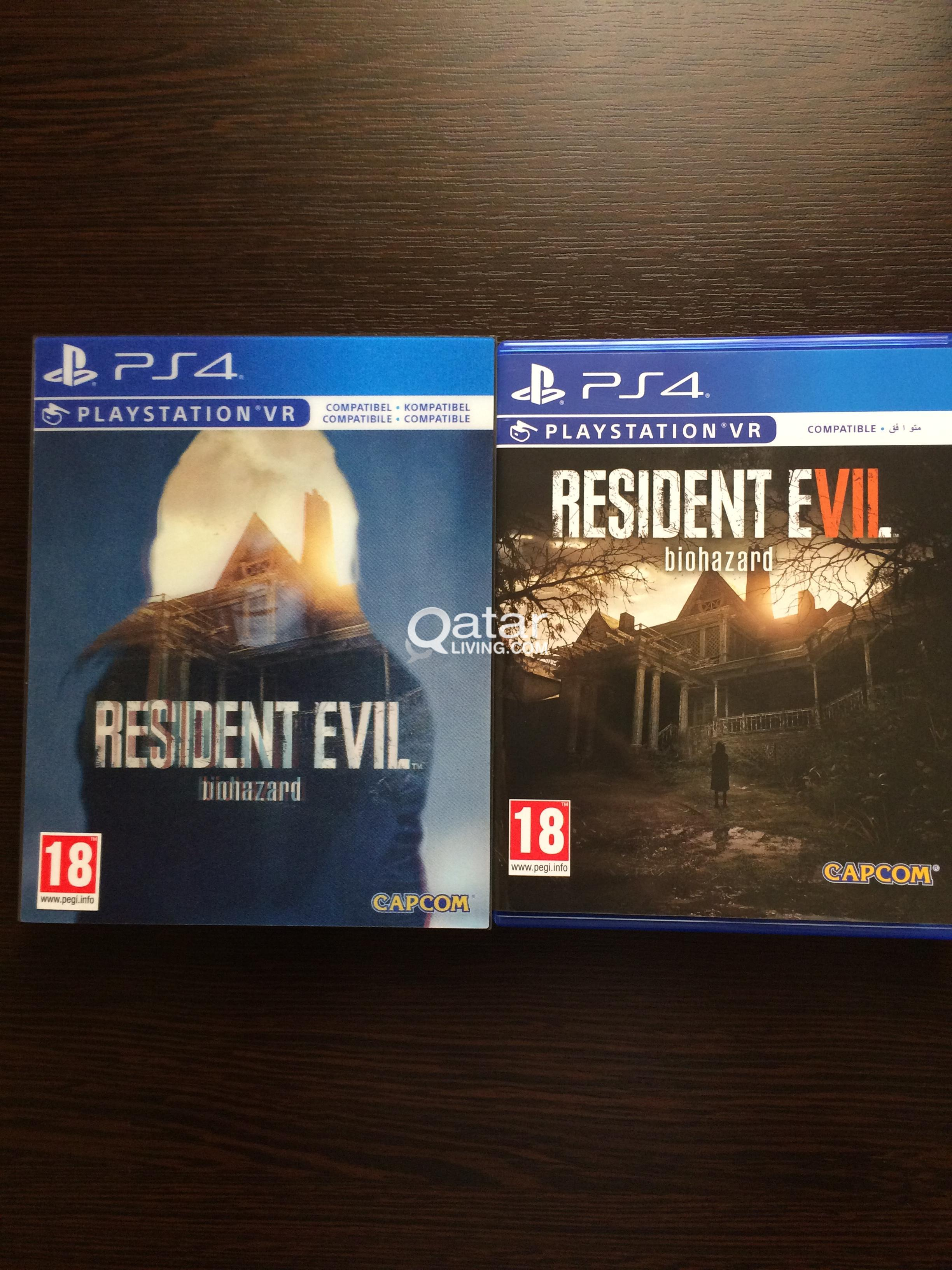 Resident Evil 7 Biohazard Ps4 Qatar Living Title Information 2017 Game For Ps