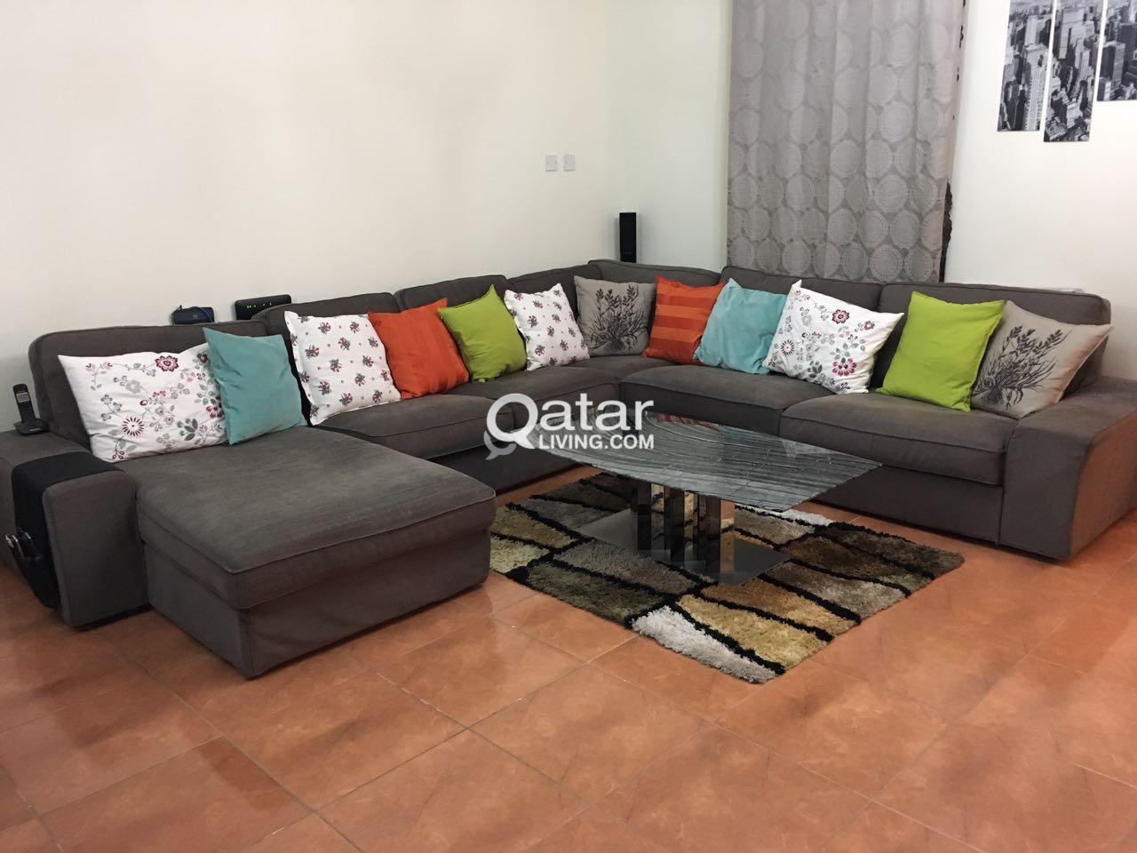 quality design b590b 1686a U Shaped KIVIK Sofa from Ikea | Qatar Living