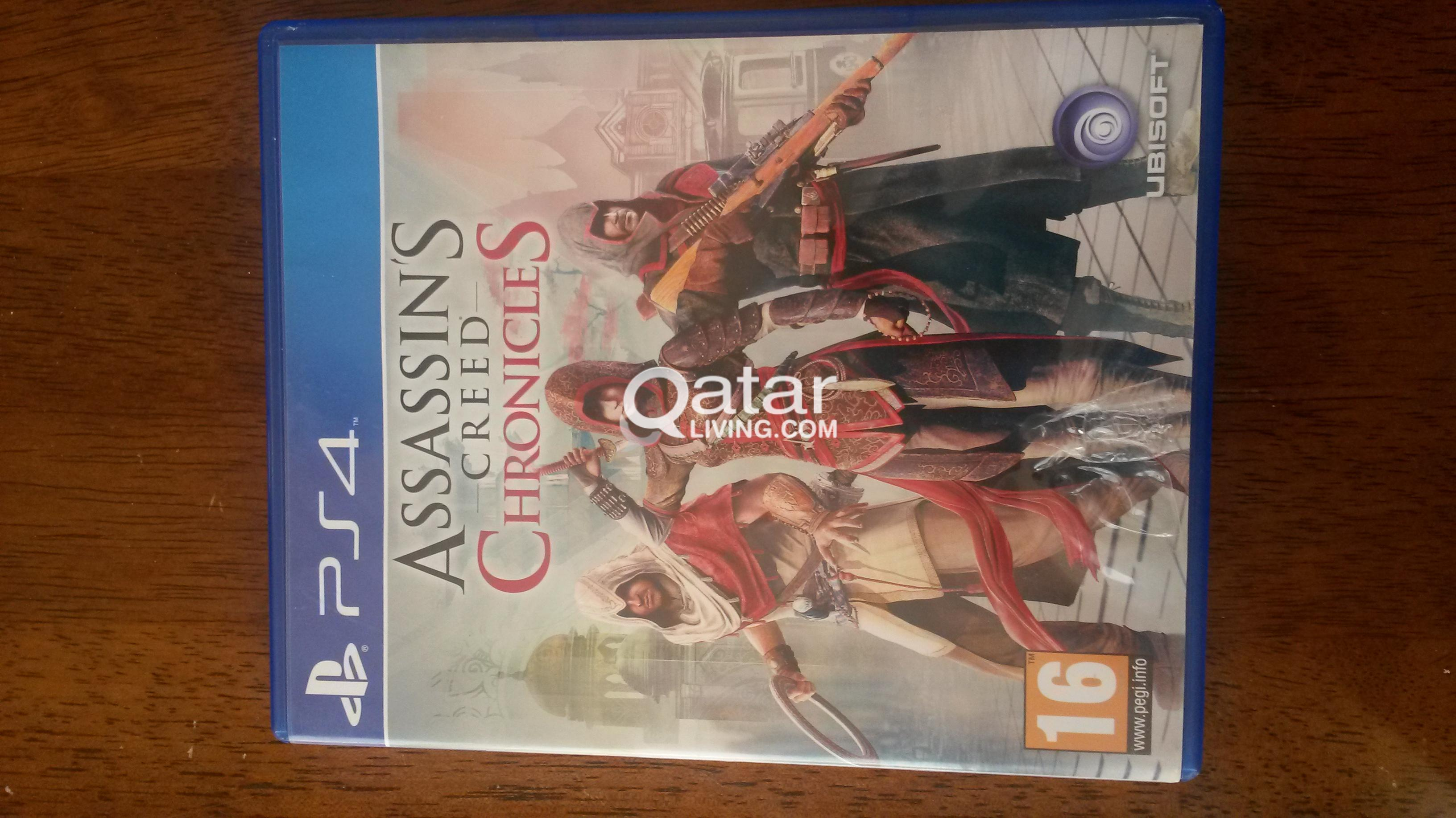Assassins Creed Chronicles Trilogy Pack Ps4 Qatar Living