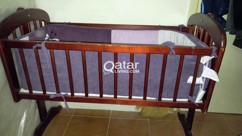 Juniors Baby Crib With Mattress Qatar Living