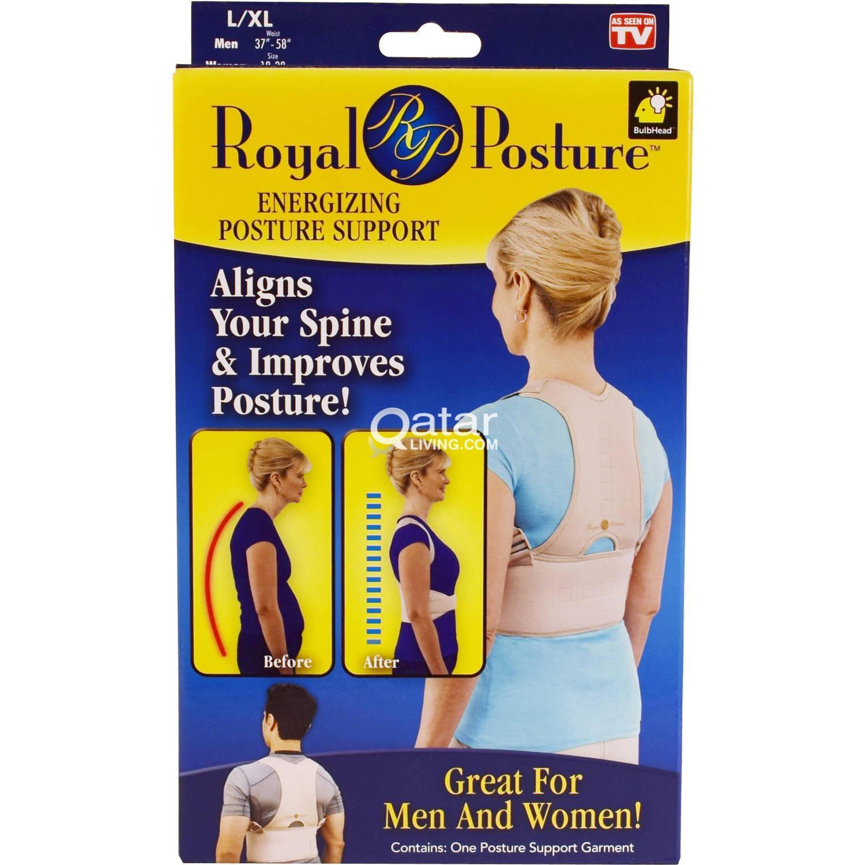 Royal Posture Back Support Belt Qatar Living Power Magnetic Corset Title Information Qar 120