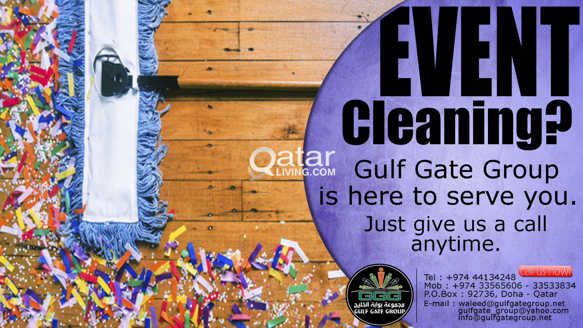 CLEANING & HOSPITALITY | Qatar Living