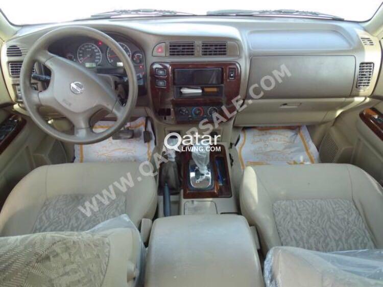 Nissan Patrol Urgent Sale Leaving Qatar 2002 Safari 4800cc