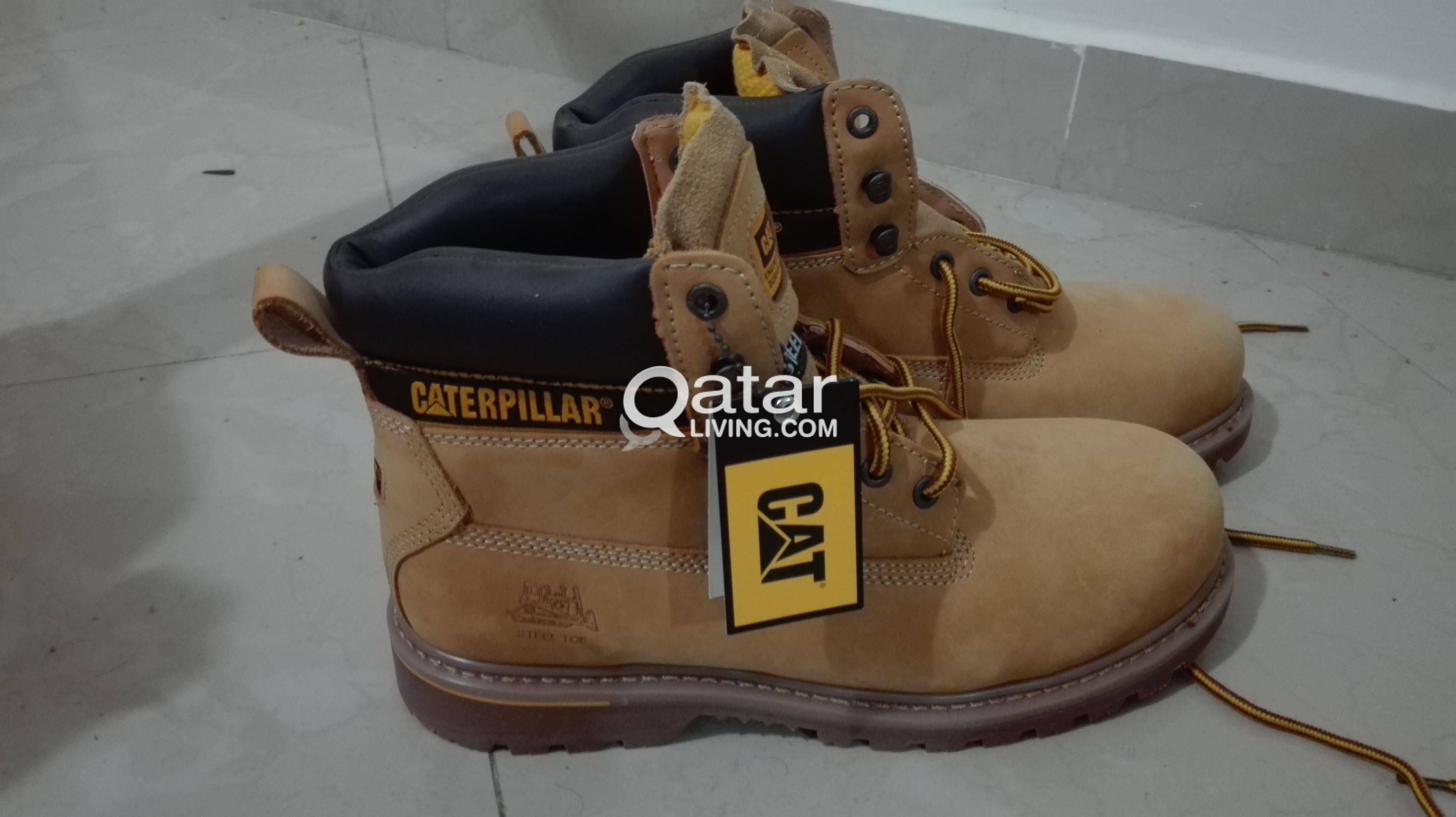 caterpillar shoes steel toe qatar living doha job