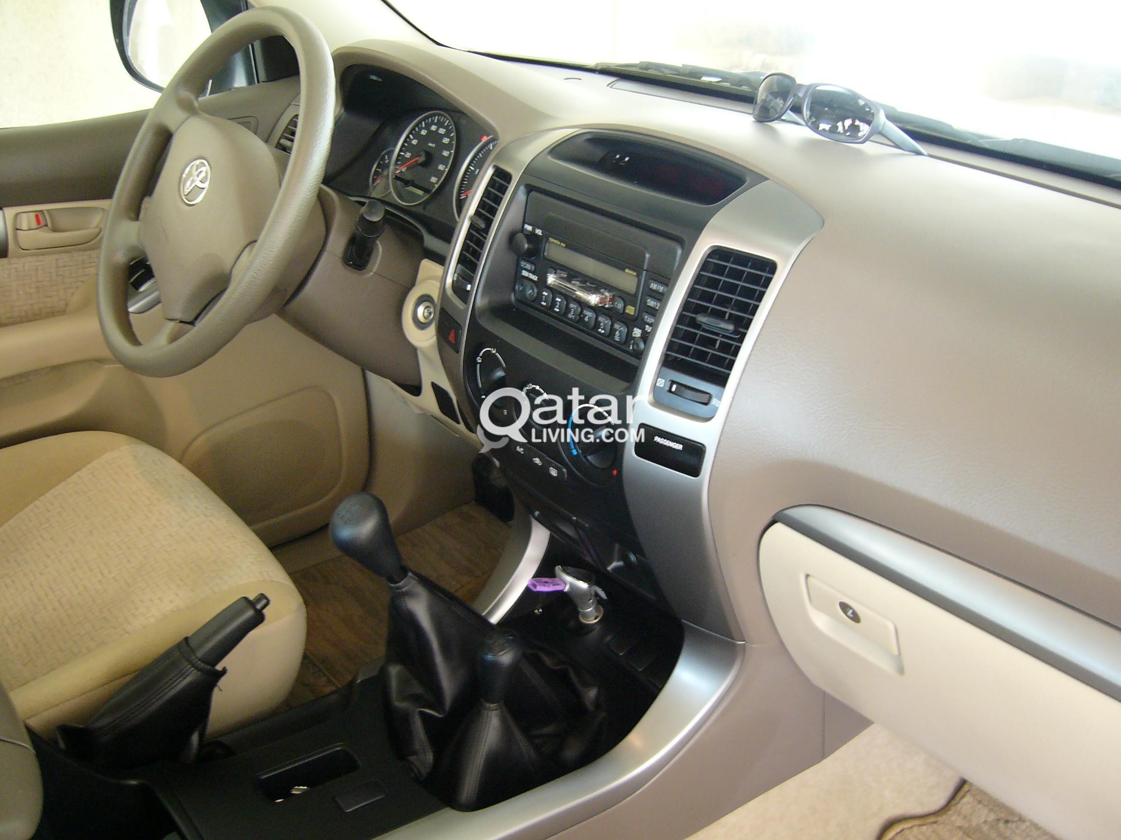 for sale toyota prado 2007 diesel engine manual gearbox qatar living rh qatarliving com prado manual pdf pardo manuel doctor