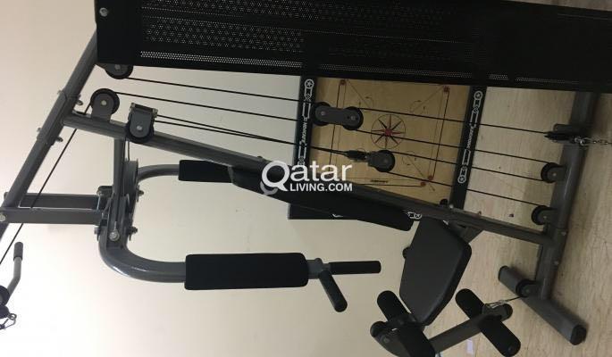 Jk exer home gym for urgent sale qatar living