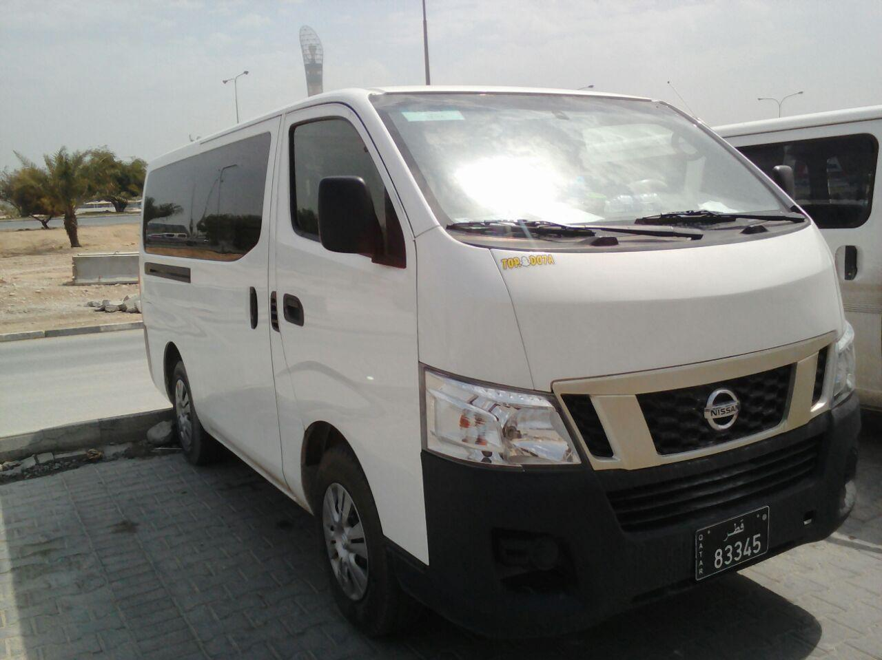 Nissan Urvan NV350 (Model: 2015) Available On Hire