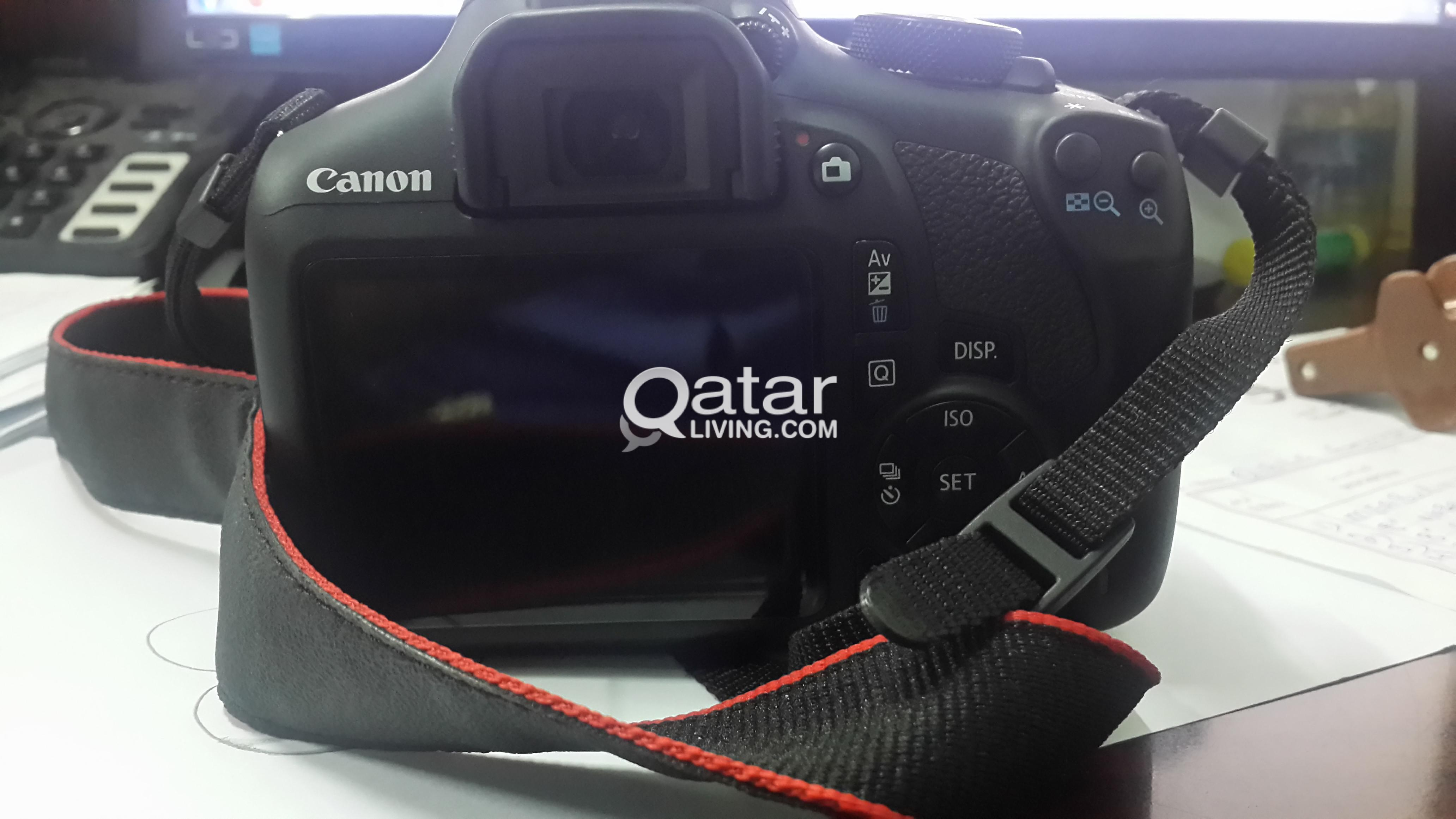 CANON 1300D DSLR with WiFi +18-55mm lens+bag | Qatar Living