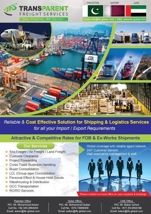 Door to Door cargo service   Qatar Living