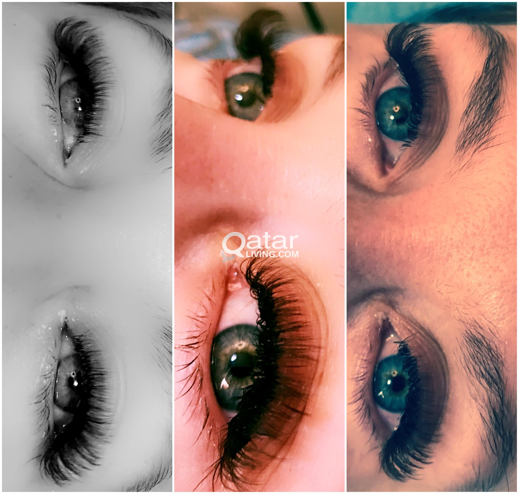 Eyelash Extensions And Lash Lifting Top Quality Wearing 5 Weeks