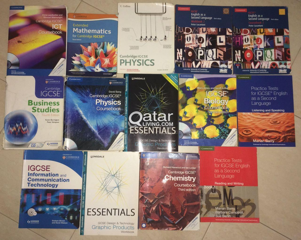 IGCSE & AS level books & pastpapers | Qatar Living