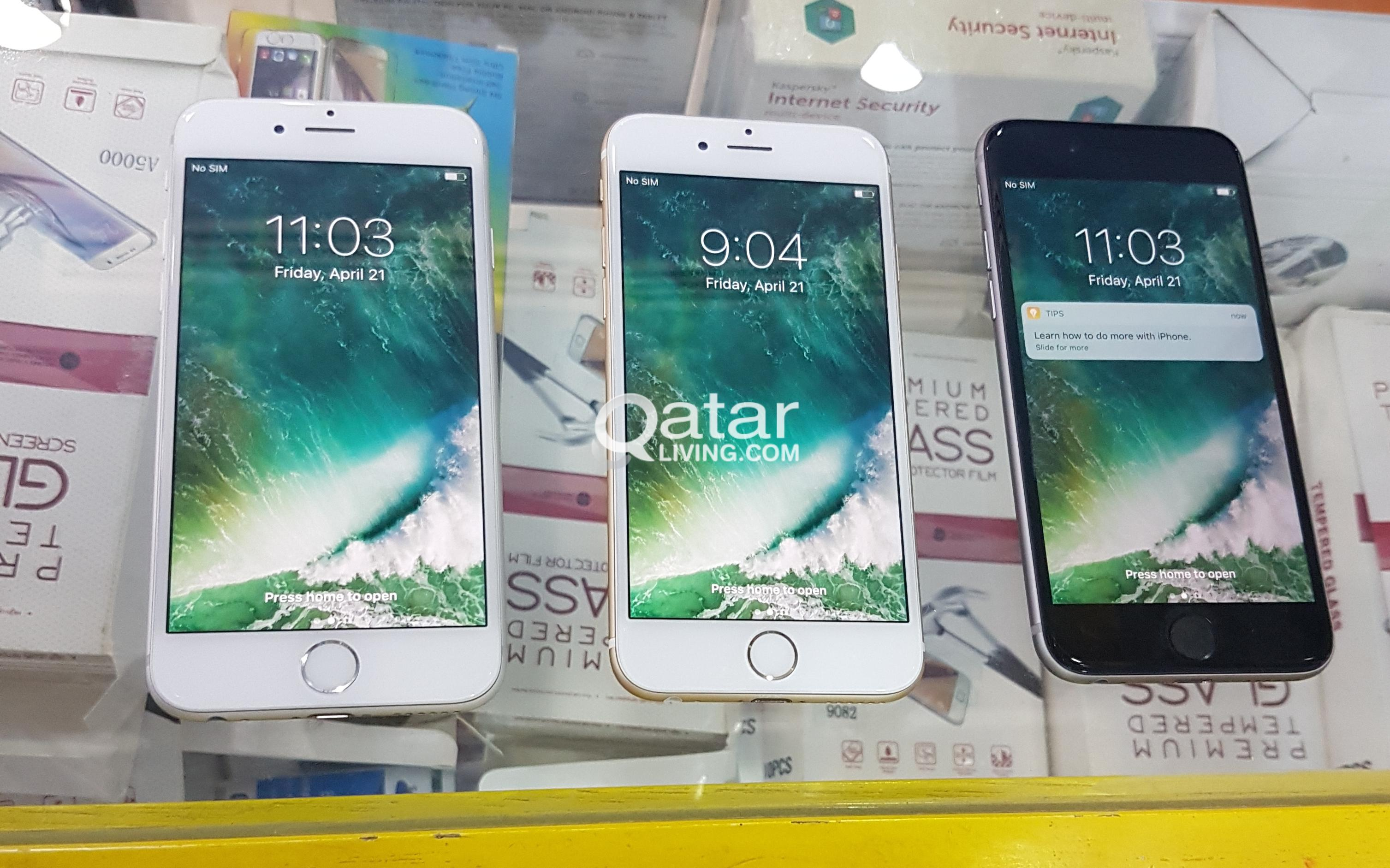 Apple Iphone 6 64gb Qatar Living 6s Gold Grey Silver Title Information For Sale Iphohe