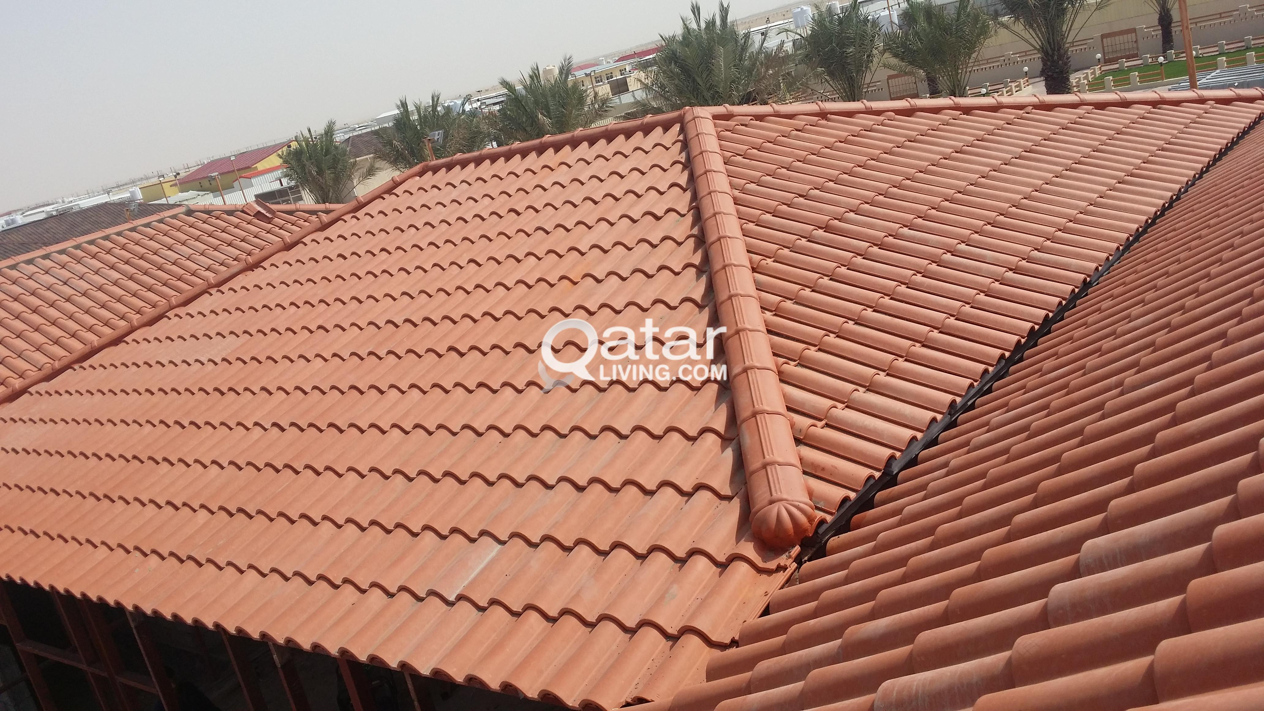 Roof Tiles Supply and Installation at Best Price | Qatar Living