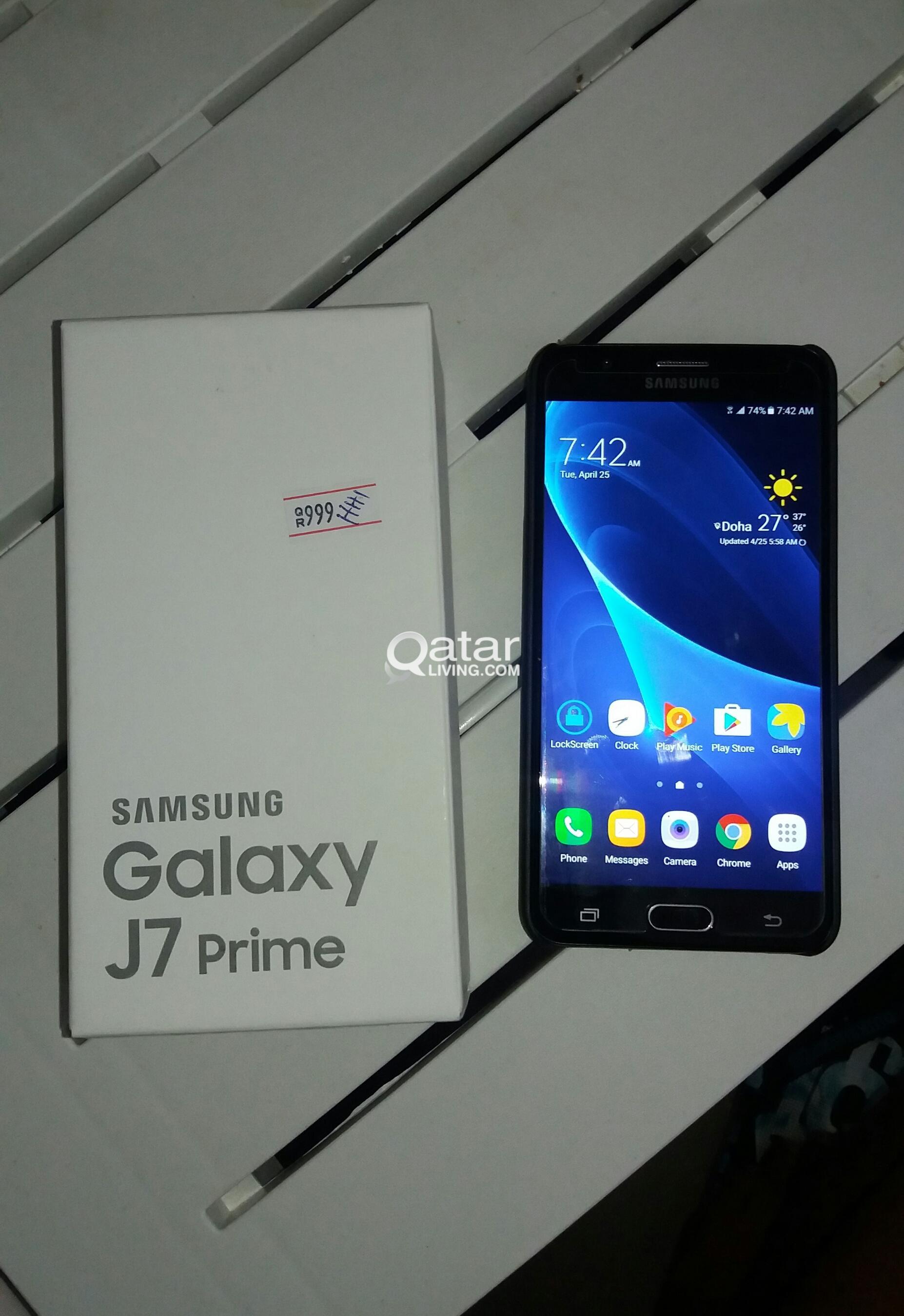 Samsung J7 Prime 32gb Qatar Living Galaxy J5 16 Gb Gold Title Information Brand New J 7