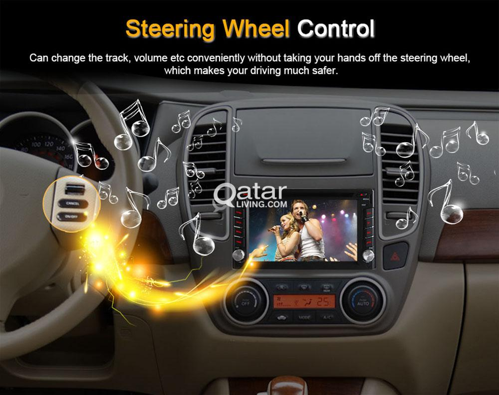 Android 6 2 inch Car Wifi GPS TV DVD multi-media player