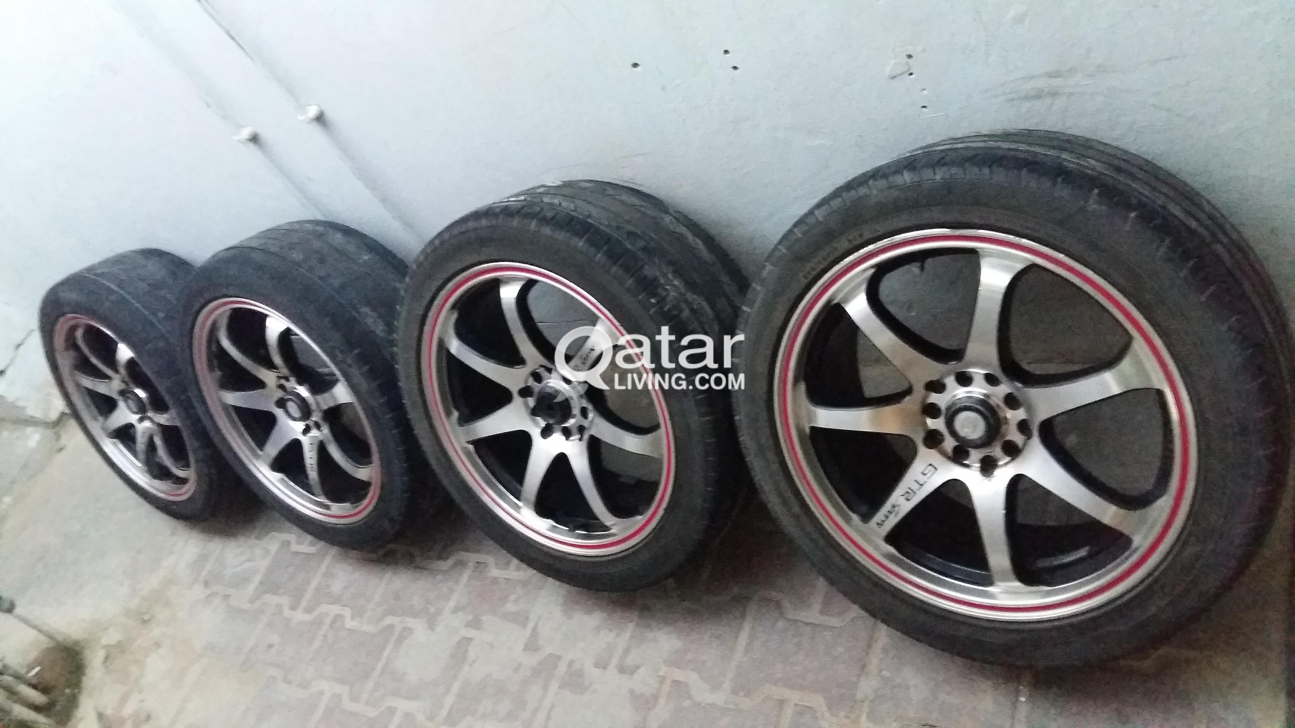 Used Wheels For Sale >> Alloy Mag Wheels For Sale Used Qatar Living