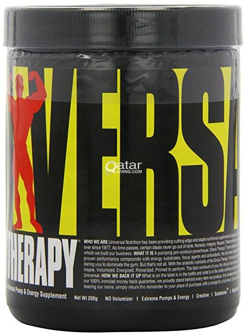 PRE WORKOUT Universal Nutrition Shock Therapy - Ha