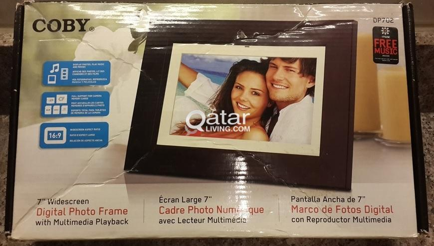 Coby 7-Inch Widescreen Digital Photo Frame | Qatar Living