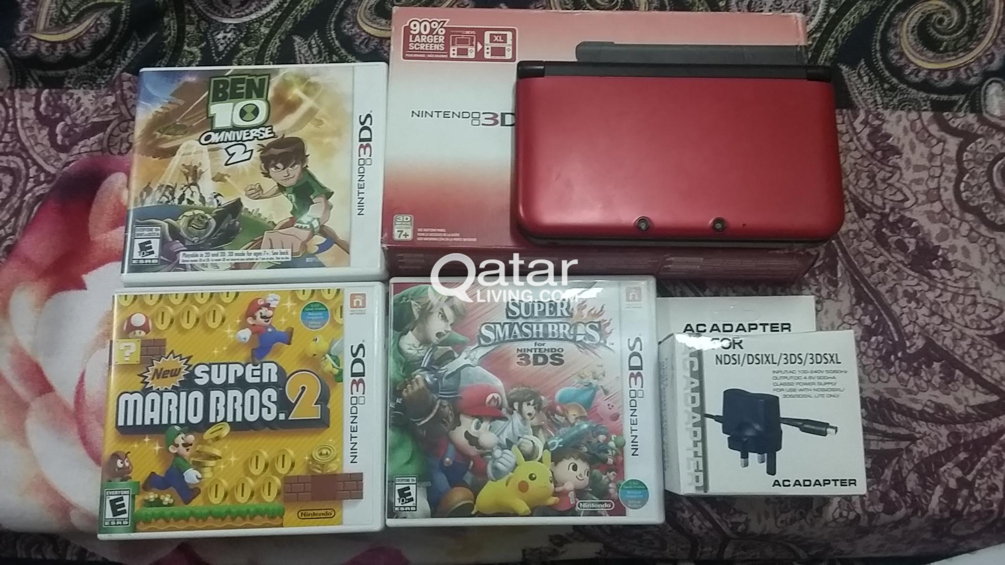 for sale nintendo 3ds xl for only Qar 550   Qatar Living