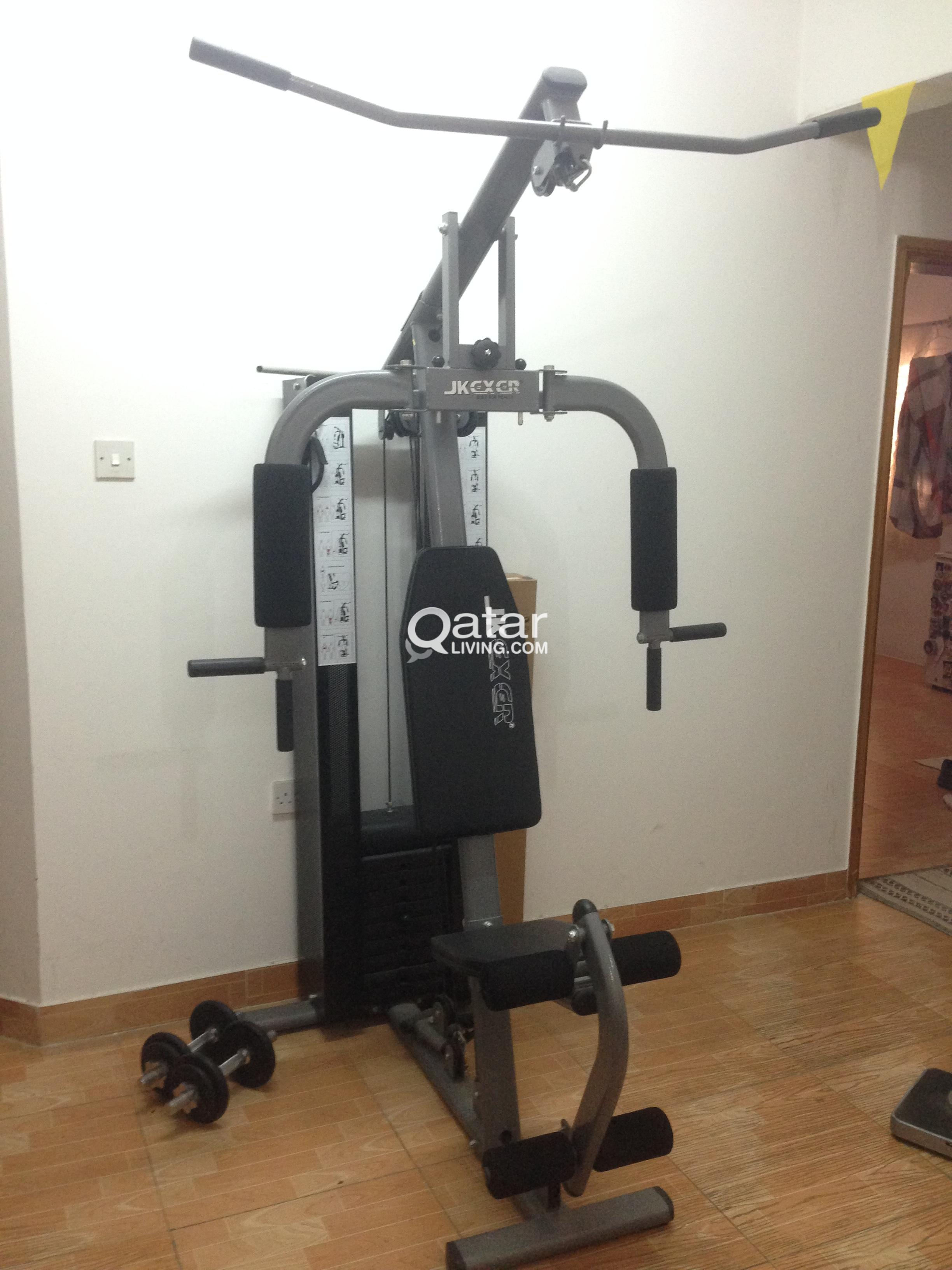 Home gym exercise machine for sale qatar living