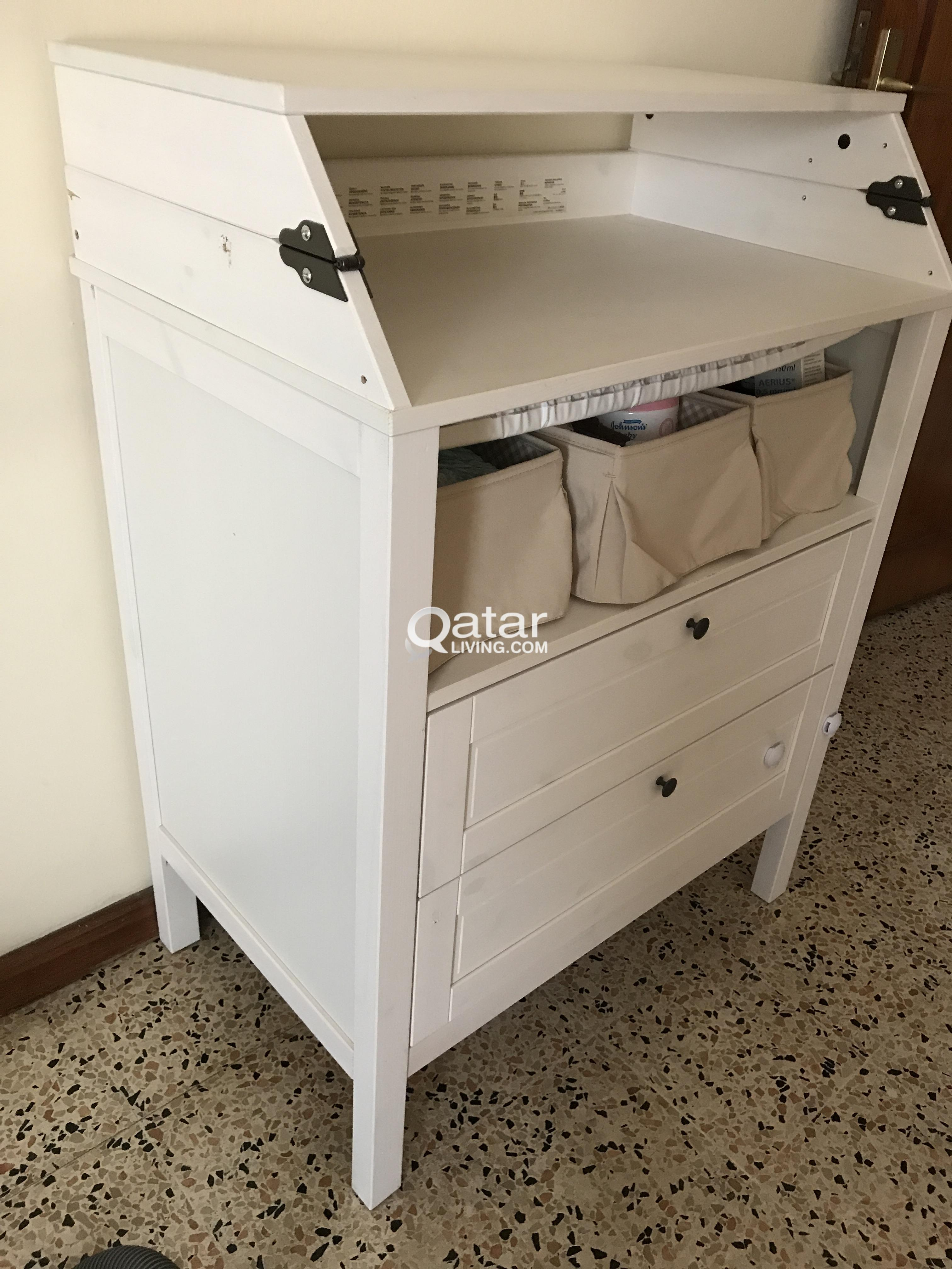 Make An Offer Baby Changing Table From Ikea Qatar Living