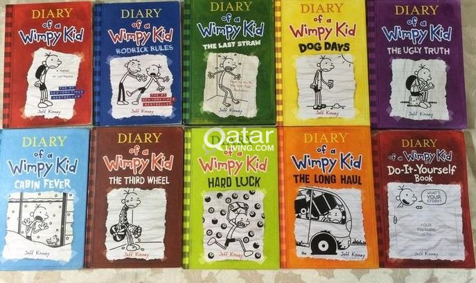 Wimpy kid complete set of 10 books qatar living title title title solutioingenieria Image collections