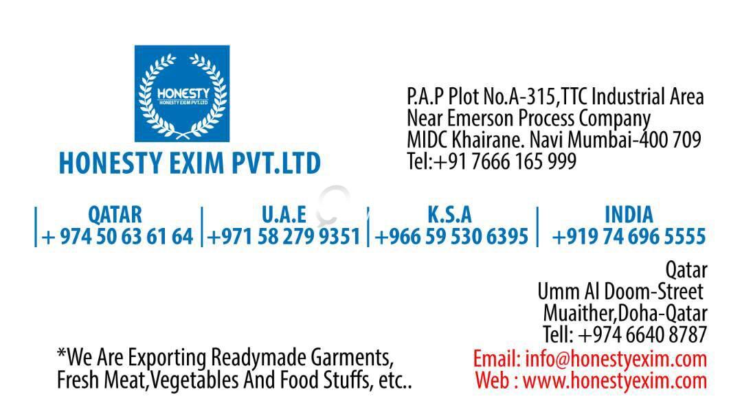 Import & Exporting from Indian vegetables Etc   | Qatar Living
