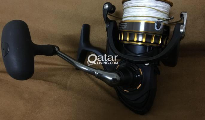 Daiwa BG 4000 fishing reel for sale | Qatar Living