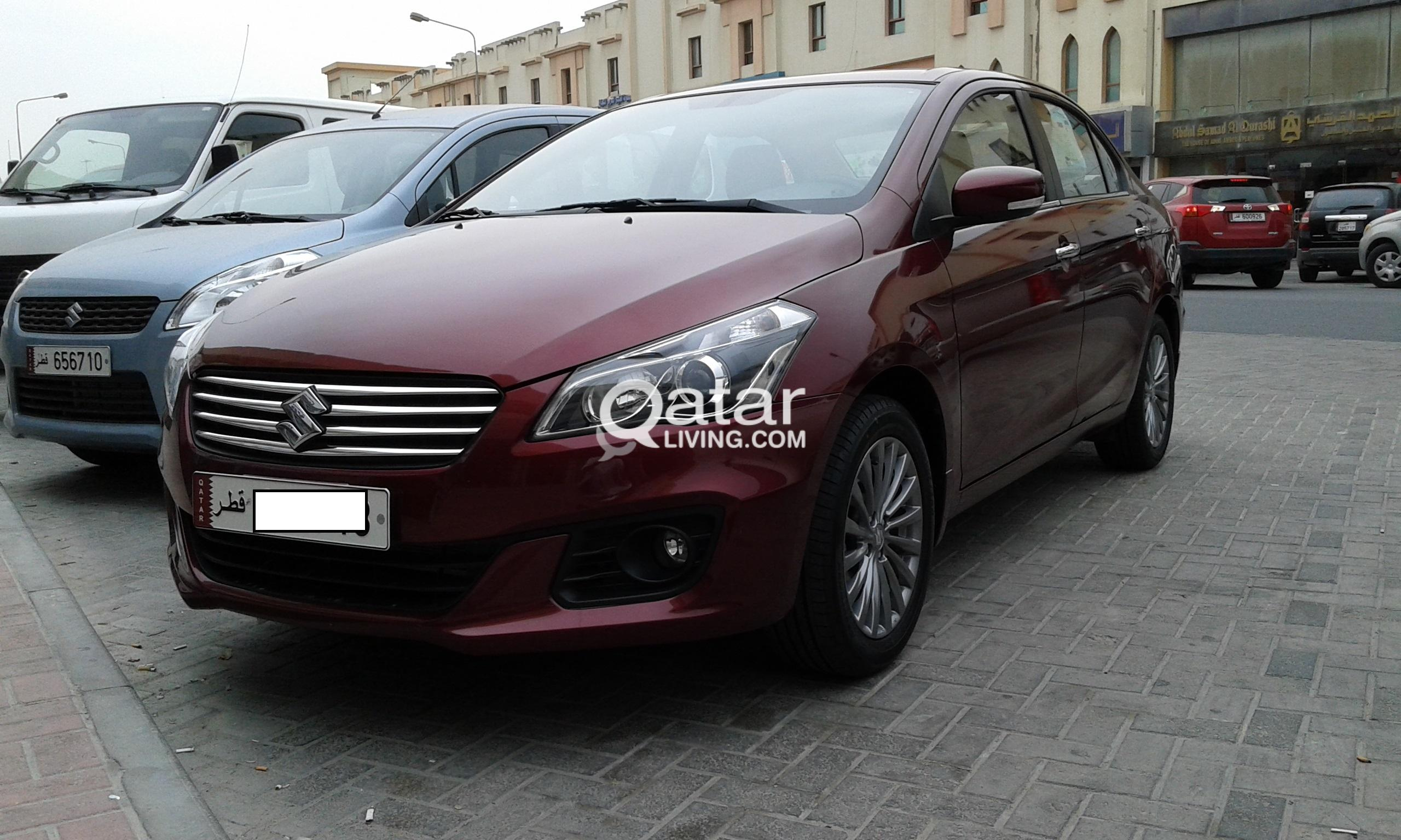 Suzuki ciaz  monthly rate 53per day
