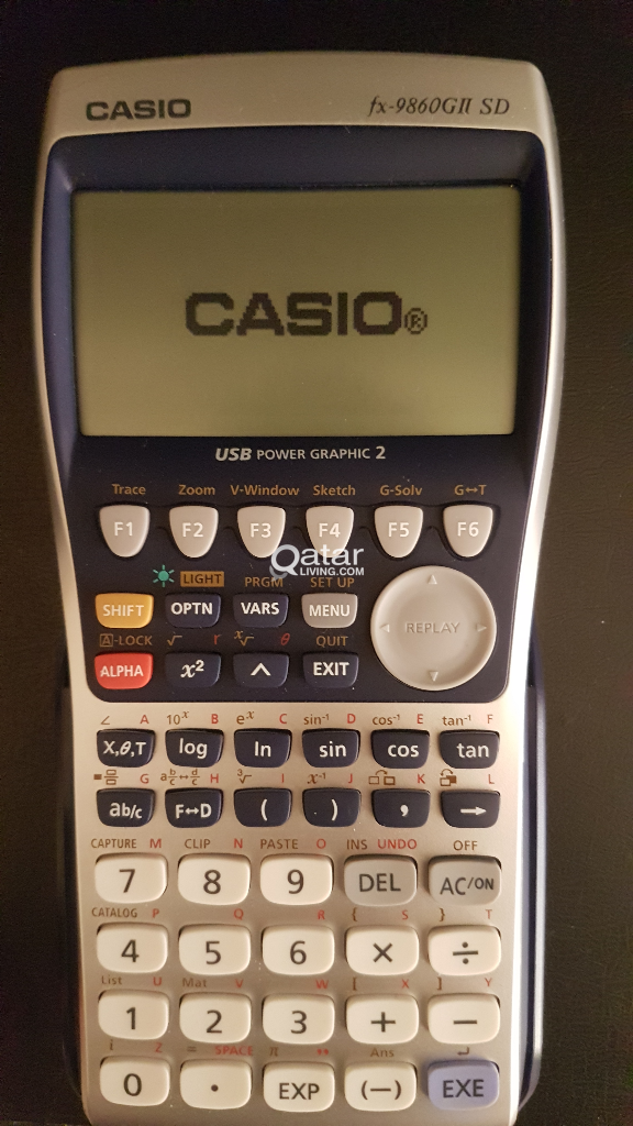 Graphing Calculator CASIO Fx 9860GII SD