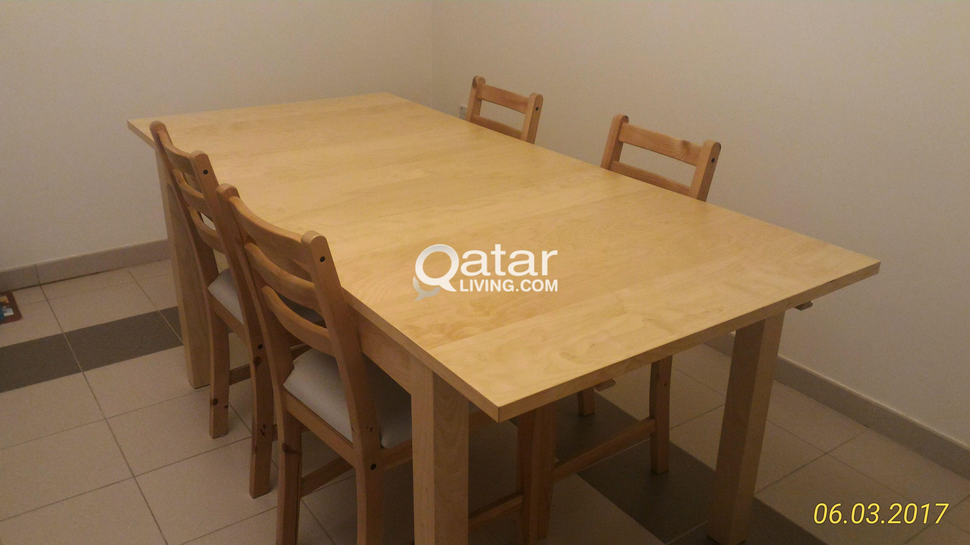 Ikea Stornas Dining Table Qatar Living