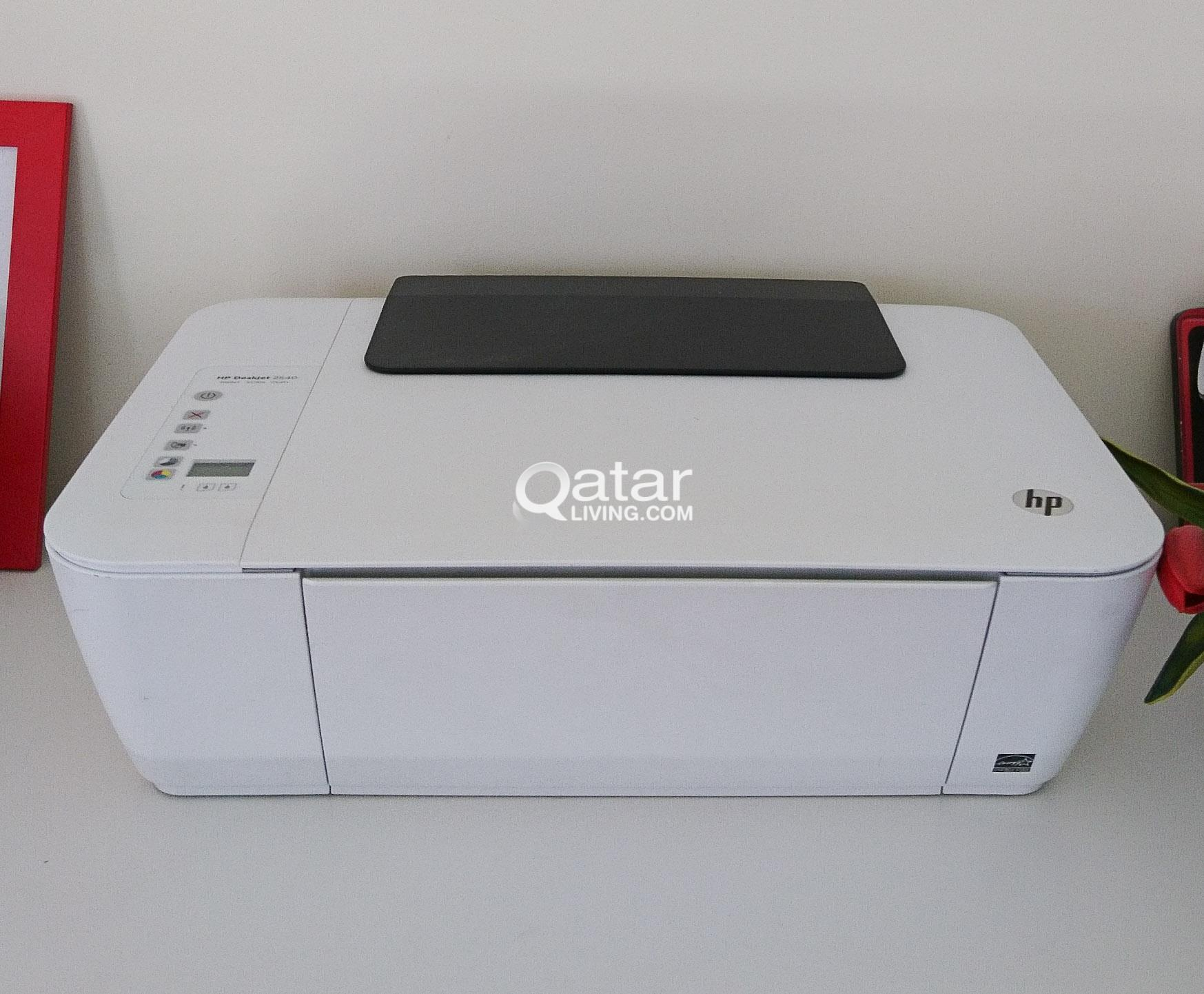 HP Deskjet 2540  3 in 1 WIFI printer, copier, scanner | Qatar Living