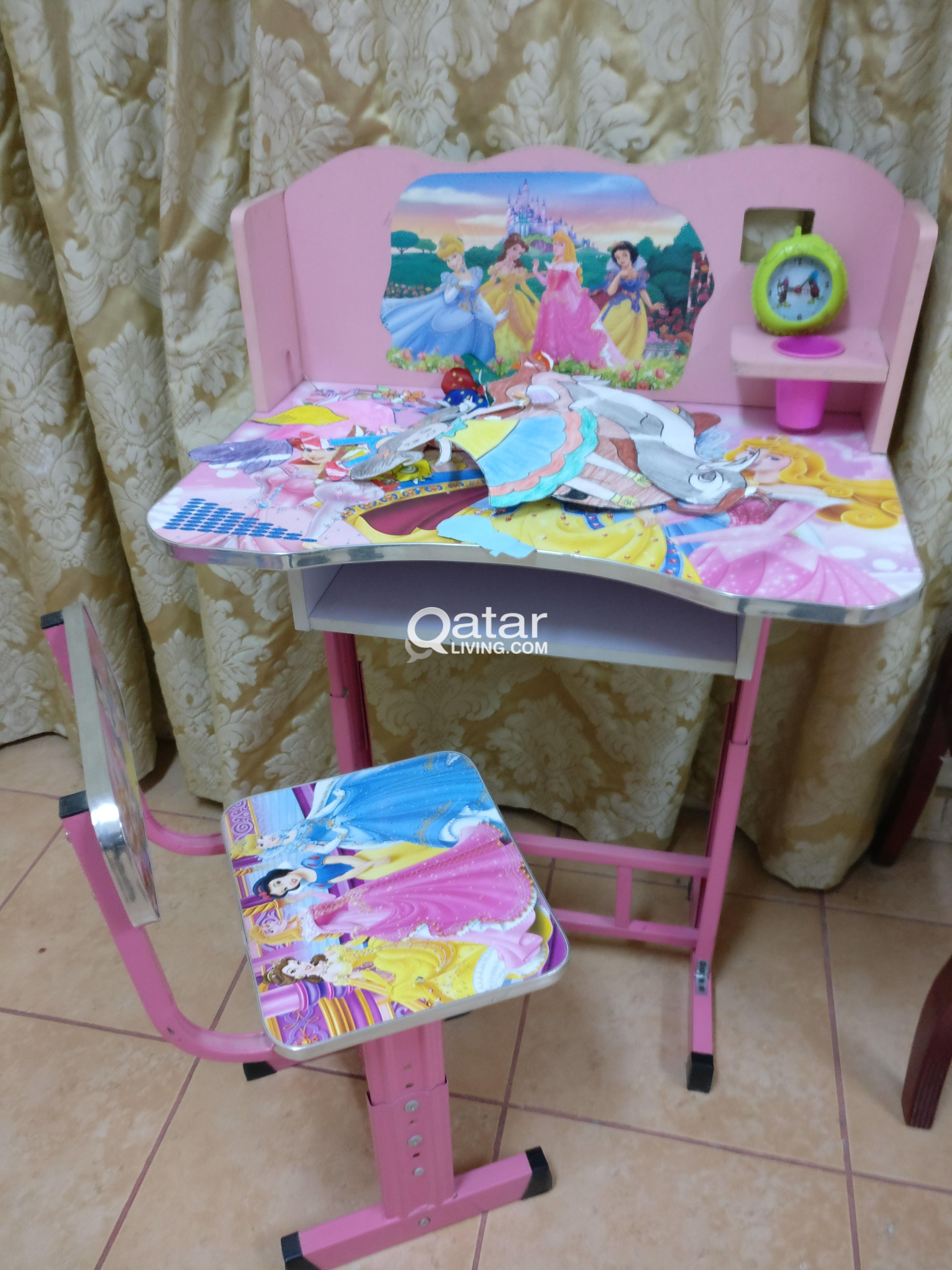 Barbie Girl Study Table | Qatar Living