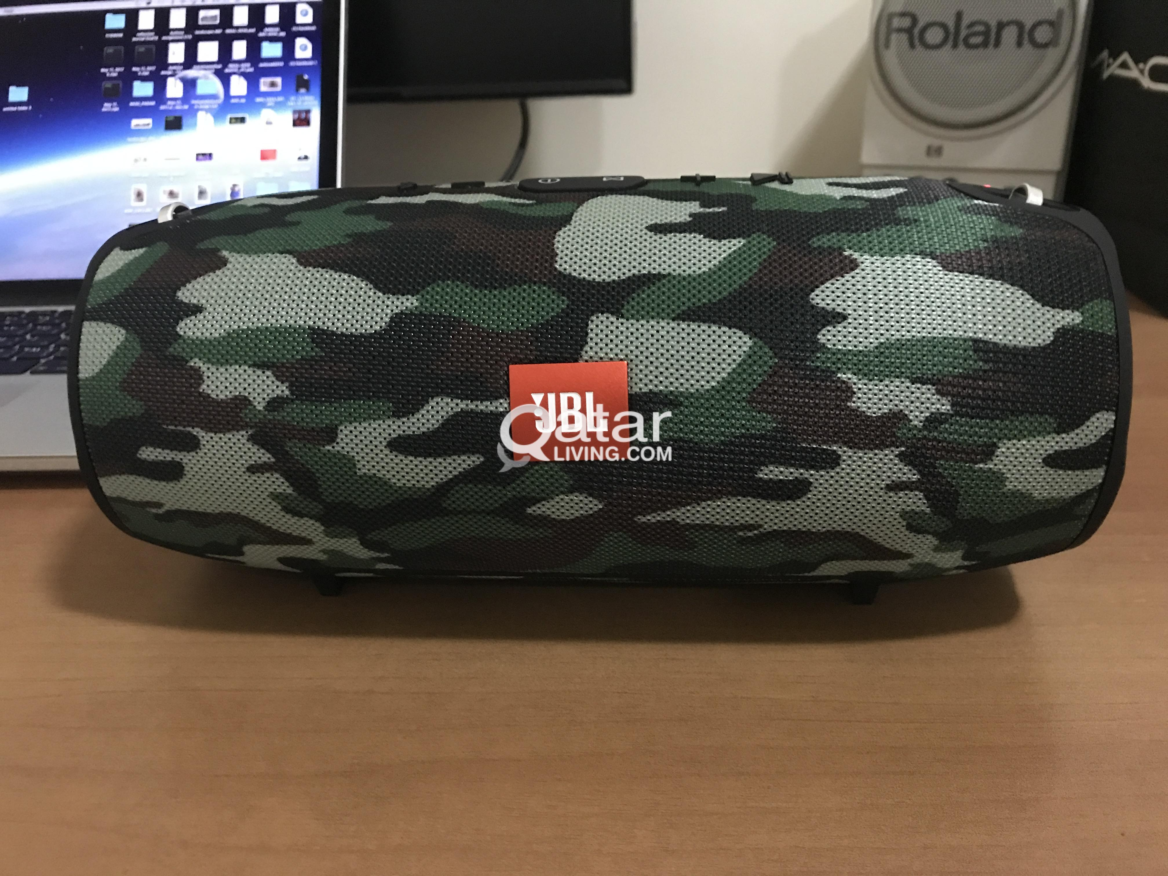 Jbl Xtreme Bluetooth Speaker Qatar Living Portable Red Title Information Blue Tooth