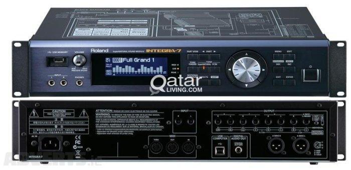 Roland INTEGRA-7: SuperNATURAL Sound Module & Audio Interface