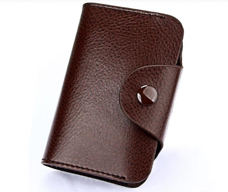 Compact Cow Leather WALLET for Men and Women