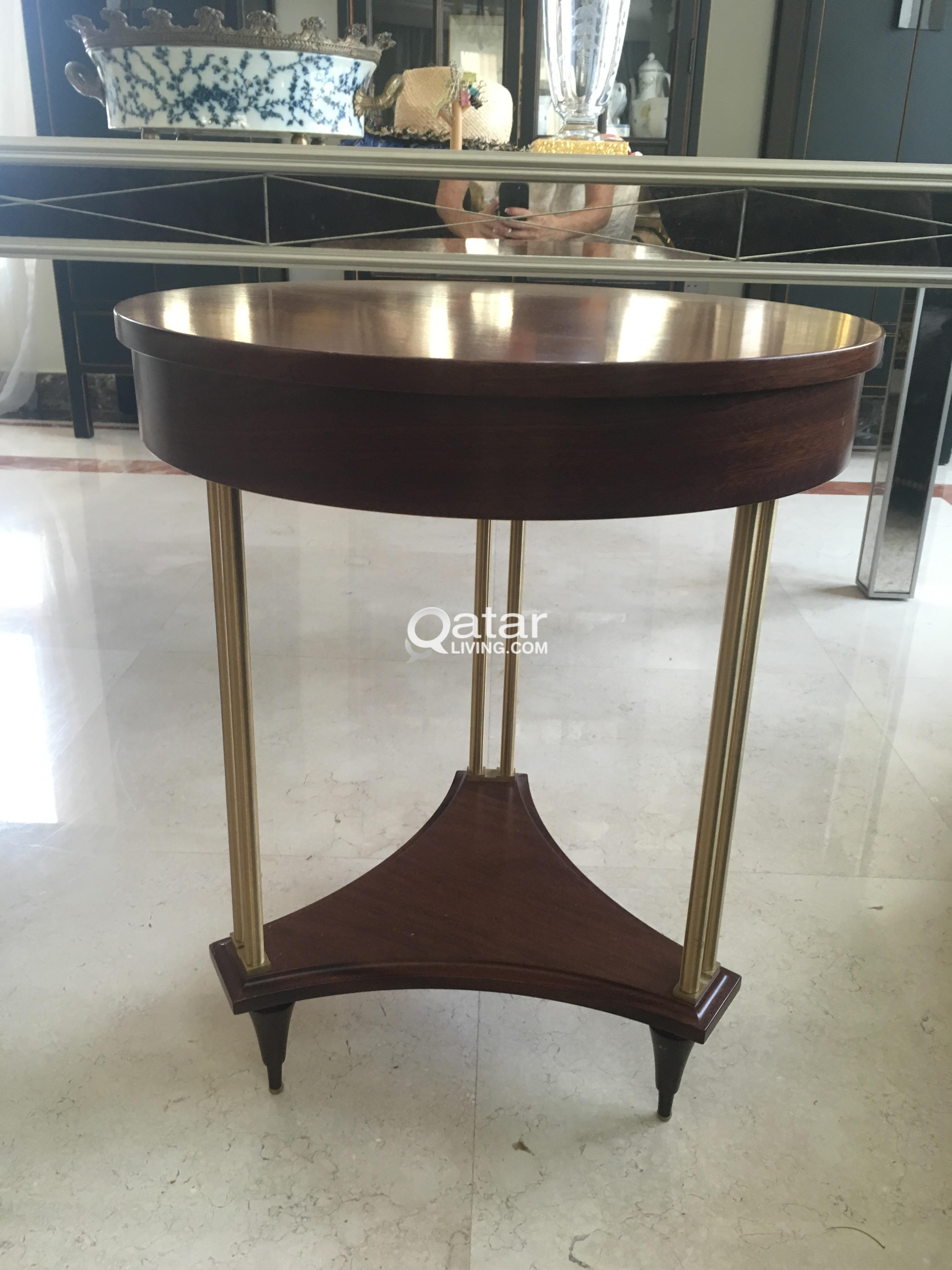 Wooden Coffee Side Table