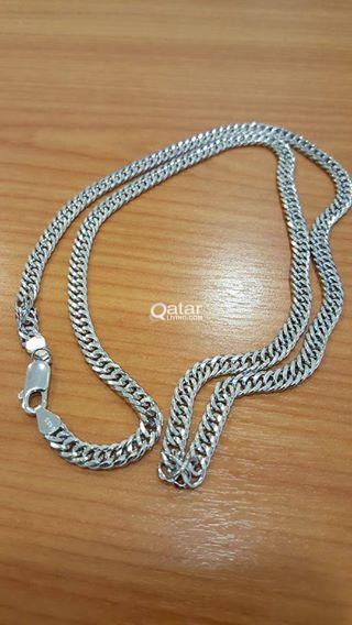Silver Chain For Men 925 Italian 32 Grams Qatar Living