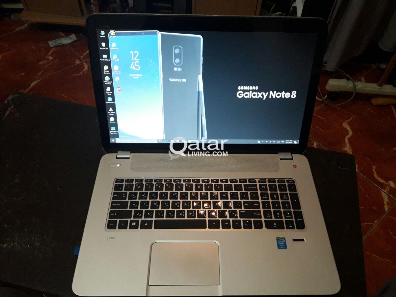 de0fa721e756 HP Envy Laptop i7 Touchscreen 17.3 inch   Qatar Living