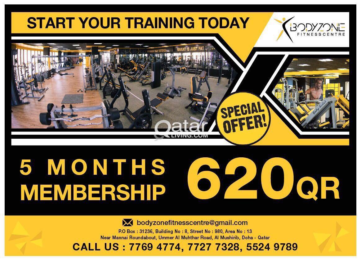 Bodyzone fitness center | Qatar Living