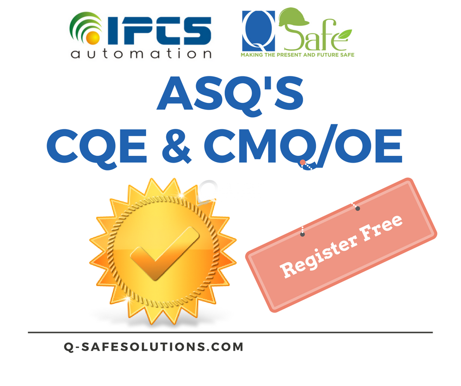 CQE Certified Quality Engineer Examination Study Guide