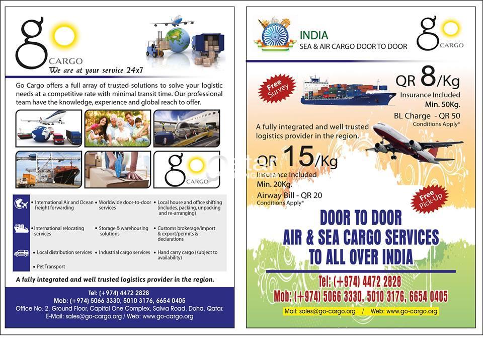 go cargo the legend cargo service | Qatar Living