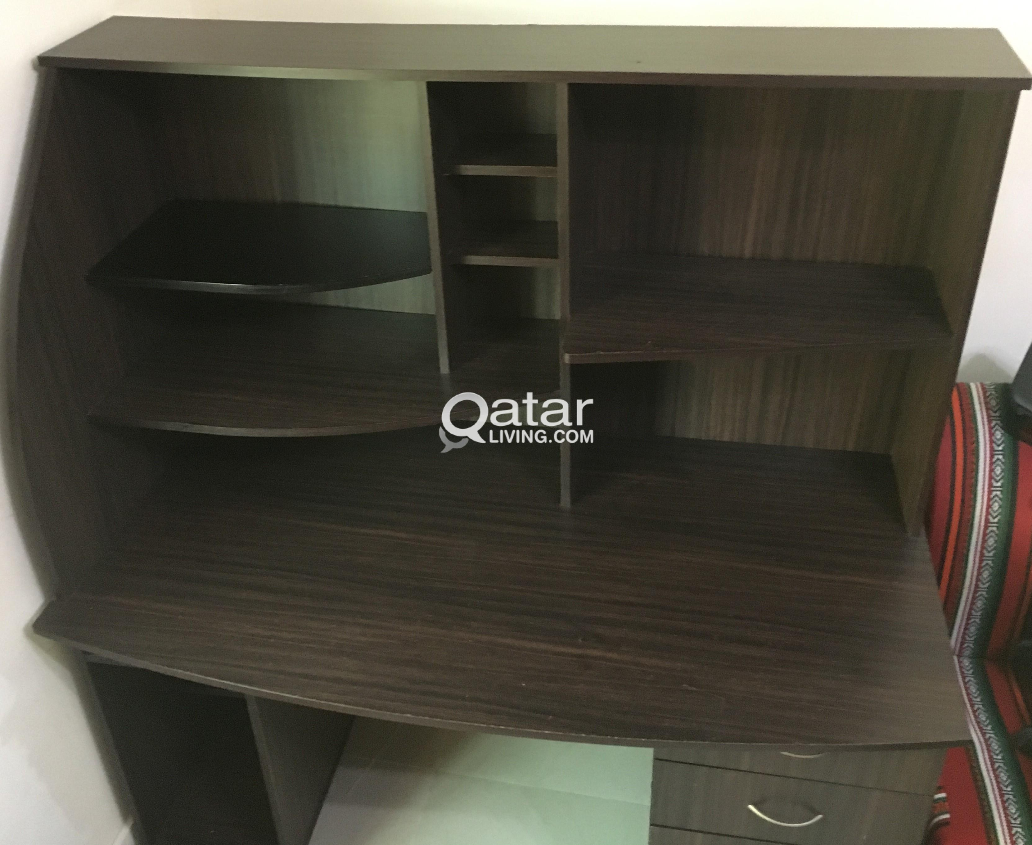 office furniture contemporary corner drawers desk low with for study desktop sale home computer cost desks