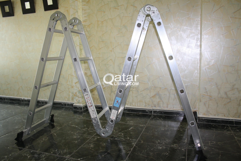 Aluminum Folding Ladder | Qatar Living