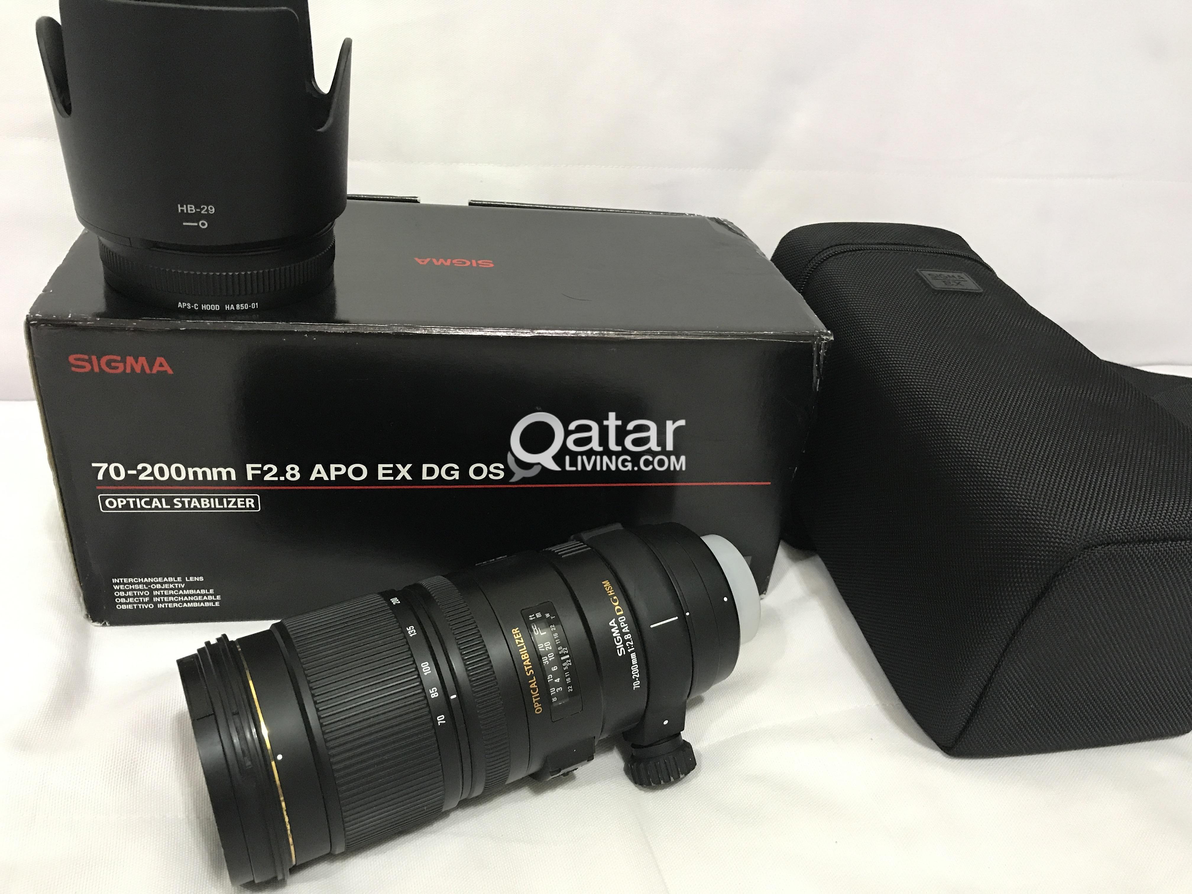 Sigma 70 200mm F28 Nikon Mount Qatar Living 300mm F 4 56 Dg Os Lens For Title